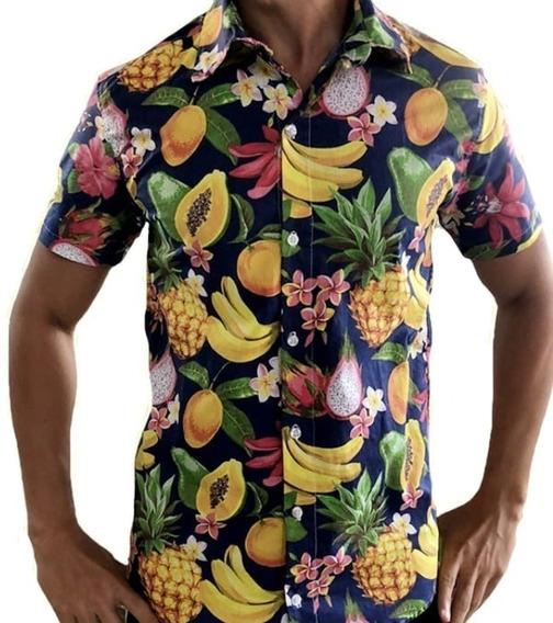 Camiseta Masculina Mix Frutas Banana - Promoção