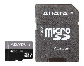 Cartão Memoria Micro Sd A-data 32gb + 1 Adpt. Class 10