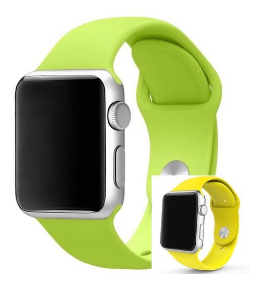 Pulseira De Silicone Para Apple Watch 42 E 44mm