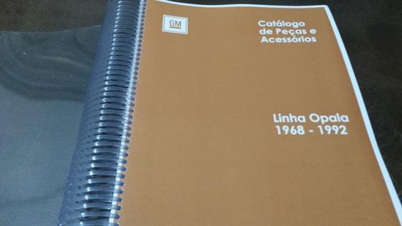 Catálogo Peças Gm Opala 1968 - 1992 - Catálogo Impresso
