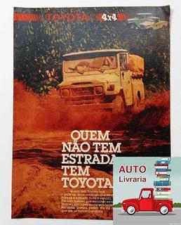 Toyota Bandeirante - Propaganda Antiga - Jipe, Picape, 4x4