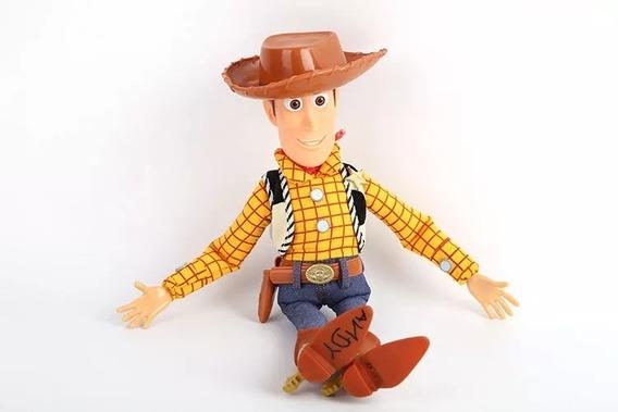 Toy Story Xerife Woody 40cm Original + *kit Garfinho*