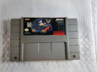 Juego Snes Super Nintendo Batman Forever Original