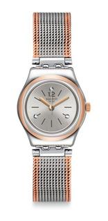 Reloj Swatch Mujer Full Silver Jacket Yss327m