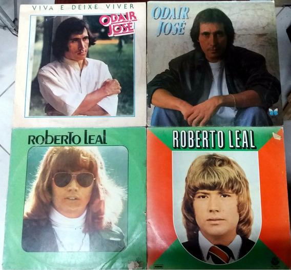 Lp Vinil Roberto Leal E Odair José (kit Com 4 Discos)