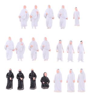 20x Modelo Figura De Acción Gente Árabe Para Modelismo