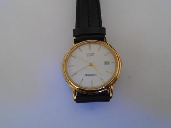 Relógio Citizen Quartz Calendário Plaquet Conservado