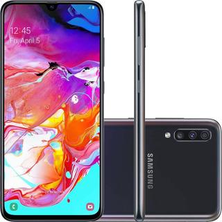Calular Samsung Galaxy A70 128gb 6gb Câm Tripla 6.7 Preto