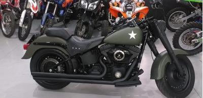Harley Davidson Fat Boy Militar