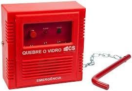Acionador Para Alarme De Incêndio Cs Ac 01f Fá-dó