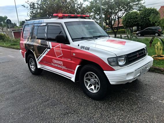 Pajero Gls-b V6 4x4 N Resgate N Viatura N Ambulancia