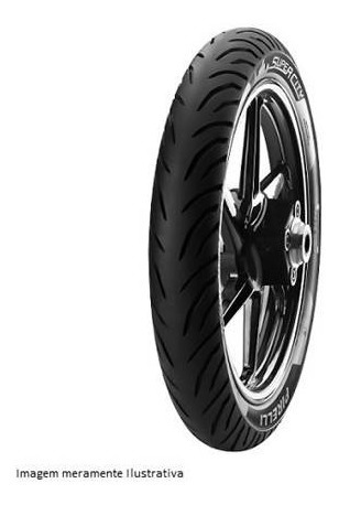 Pneu Pirelli Super City Tras 100/90-18 S/ Câmara Fazer 150