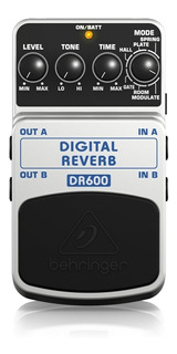 Pedal Digital Behringer Dr600 Pedal Reverb Premium