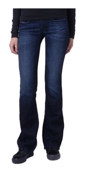 Jeans Diesel W25 L34 Stretch Para Mujer, Estilo Desgastado.