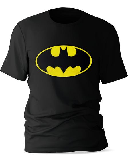 Playera Niño Manga Corta Diseño Batman Algodón
