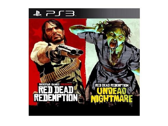 Jogo Playstation 3 Conjunto Red Dead Midia Digital Psn Promo