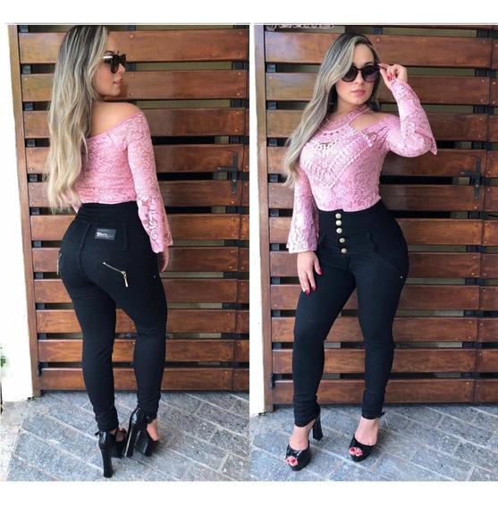 Kit De 2 Calças Jeans Femininas Corpeti Alta Frete Gratis