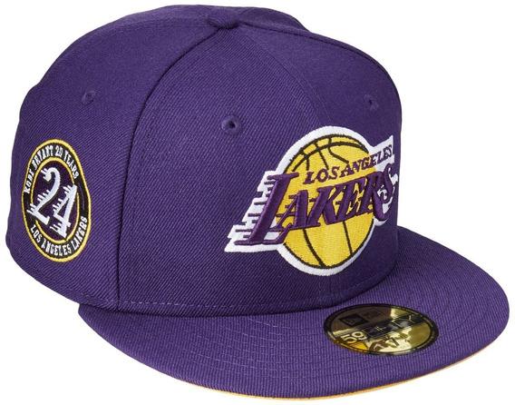 Gorra New Era 5950 Lakers Kobe Inc Purple 24 7