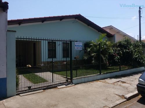 Casa Com 3 Dormitórios À Venda, 230 M² - Monte Castelo - São José Dos Campos/sp - Ca1078