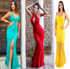 Vestidos De Festa 3 Peças Roupas No Atacado Para Revender