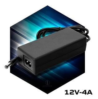 Fuente 12v 4a Transformador Plastico Switching Tira Led Cctv