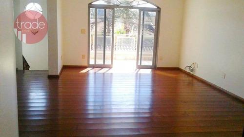 Casa Com 4 Dormitórios, 336 M² - Venda Por R$ 660.000,00 Ou Aluguel Por R$ 4.000,00/mês - City Ribeirão - Ribeirão Preto/sp - Ca4051