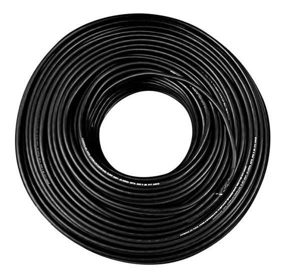 Cable Negro Kobrex 19h Cal. 10 Awg Rollo 100 Mto
