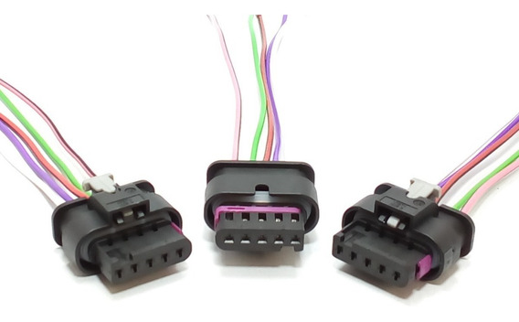 Chicote Conector Plug Cht Sensor Fluxo Ar Jetta Audi A3 A4