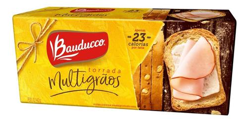 Torrada Multigrãos Bauducco 142g