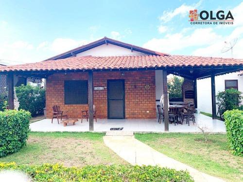 Imagem 1 de 30 de Casa Com Área Gourmet Em Condomínio Fechado, À Venda - Gravatá/pe - Ca0610