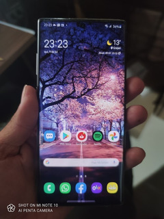 Samsung Galaxy Note 10+ 256gb 12gb Ram Original Detalhe Leia