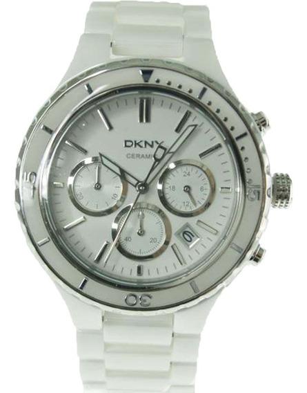 Relógio Dkny - Ny8187 - Caixa E Pulseira Em Cerâmica