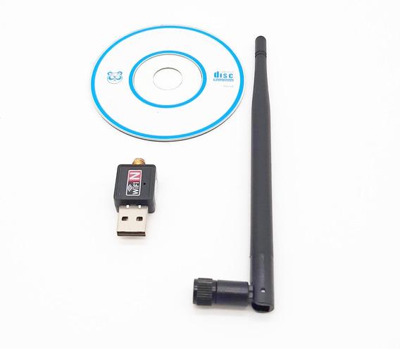 Antena Wifi Usb Pc Wireless 900 Mbps Rede Promoção Oferta