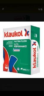 Pastina Klaukol X 1kg (negra / Gris Plomo)