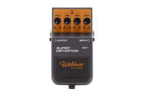 Pedal De Efeito Waldman P/guitarra Super Distortion Sd-1