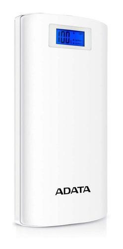 Bateria Portatil Powerbank Adata P20000d Blanca