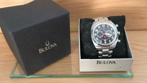 Relógio Bulova C 860907 Aço Original