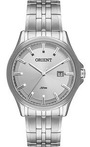 Relógio Orient Masculino Mbss1241 G1sx Fundo Cinza