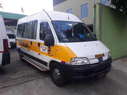 Boxer Minibus 2015 Teto Alto Longa C/ Plataforma Elevatória