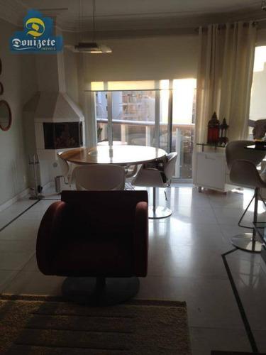 Cobertura Com 1 Dormitório À Venda, 130 M² Por R$ 979.000,00 - Jardim - Santo André/sp - Co1786