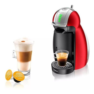 Cafetera Dolce Gusto Genio 2 Roja Moulinex Pv160558 Palermo