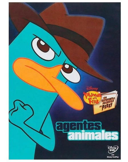 Dvd Phineas Y Ferb Agentes Animales - Nuevo - Disney