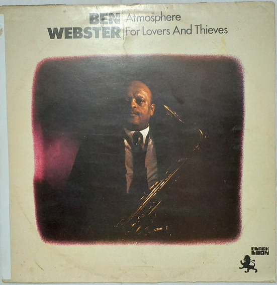 Lp Ben Webster - Atmosphere (1965) Reedição1976
