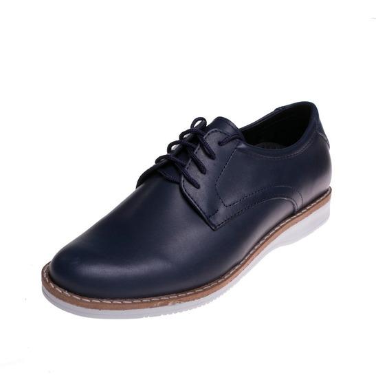 Zapato Darmaz Hombre Urbano Azul