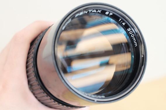 Lente Tele Objetiva Smc Pentax 300mm F4 67 6x7 67ii