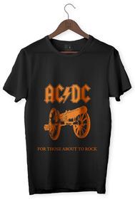 Camiseta Rock - Acdc