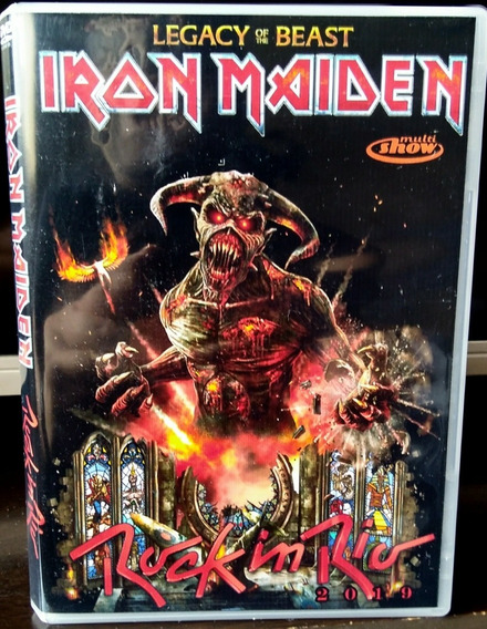 Iron Maiden - Rock In Rio 2019 Dvd