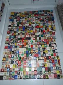 Coleção 676 Caixas De Fosforos Antigas
