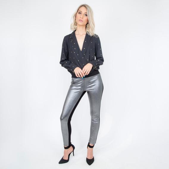 Pantalón Leggin Con Elástico En Cintura (531409)