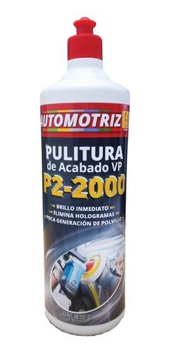 Pulitura De Acabado P2 2000 Vp Automotriz 1 Litro